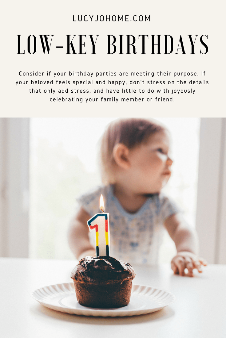 Simple and Easy Birthday Celebration Ideas