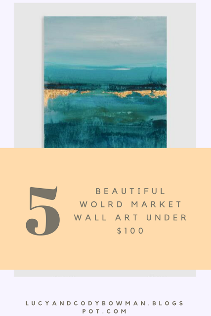 World Market Wall Art Under $100