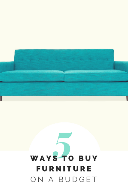 5 ways to Furnish a Home on a Budget