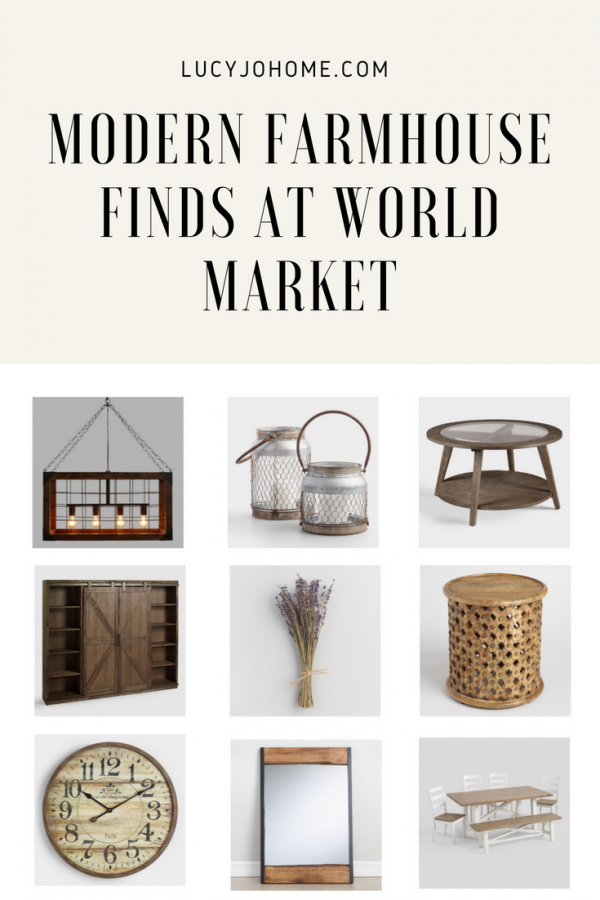 Modern Farmhouse Finds at World Market