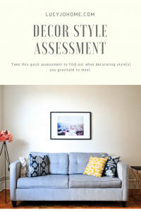 Decor Style Assessment