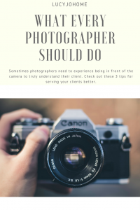What Every Photographer Should Do