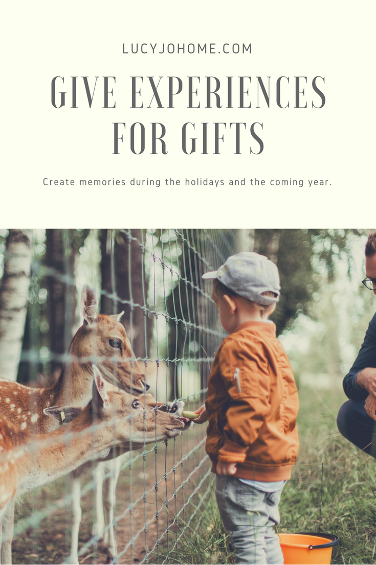 Give Experiences for Gifts