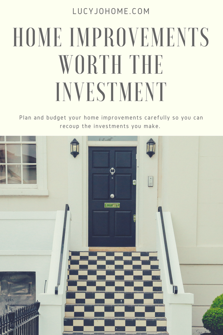 Home Improvements Worth the Investments