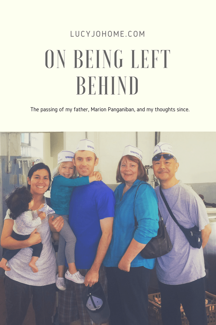 On Being Left Behind
