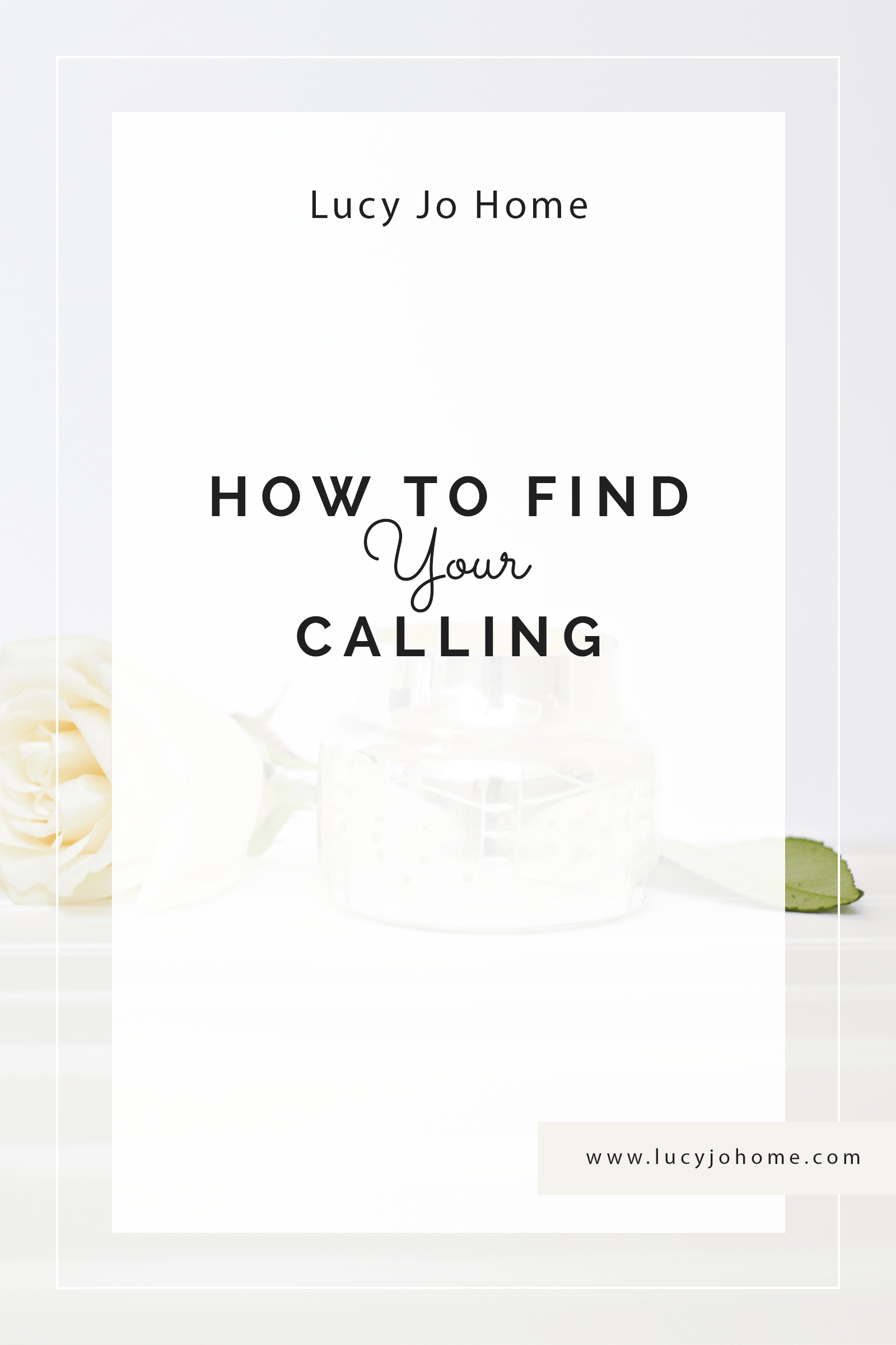 How to Find Your Calling