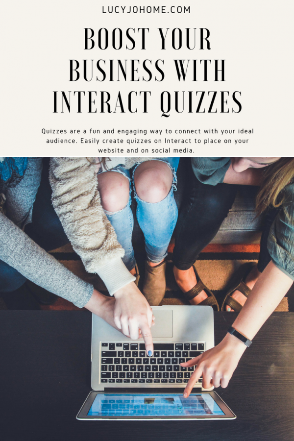 Boost Your Business with Interact Quizzes