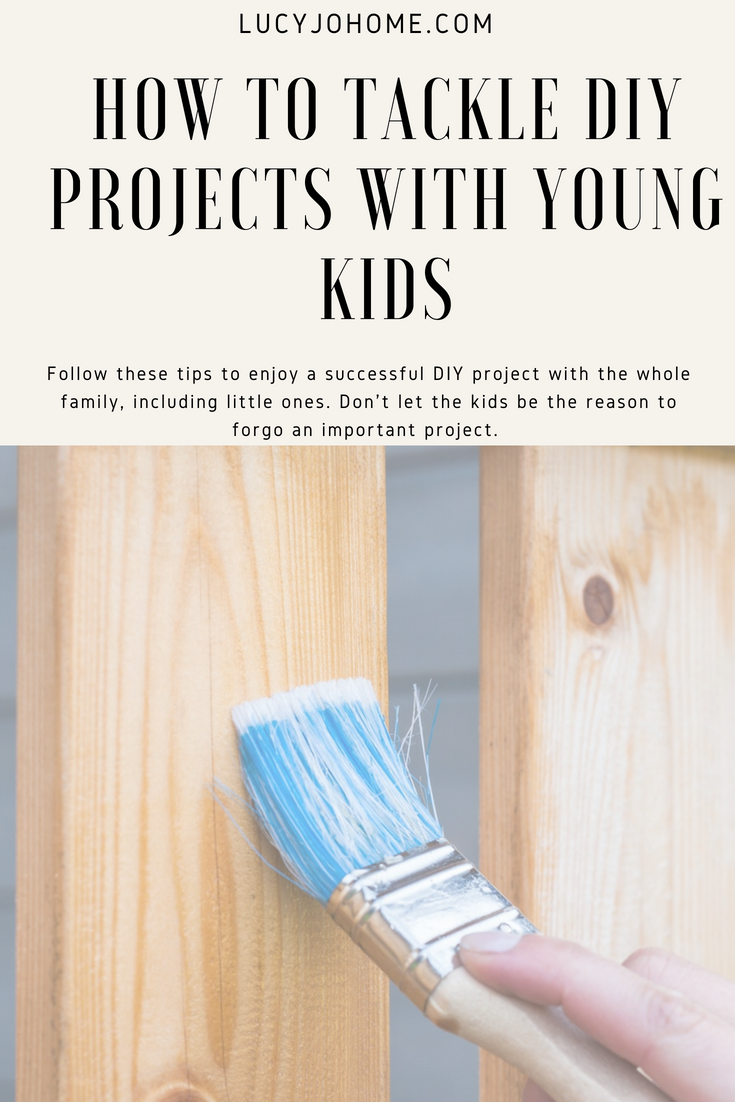 How to Tackle Home Improvement Projects with Young Kids
