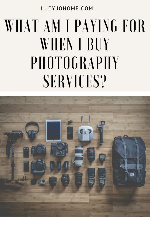 What am I Paying for When I Buy Photography Services