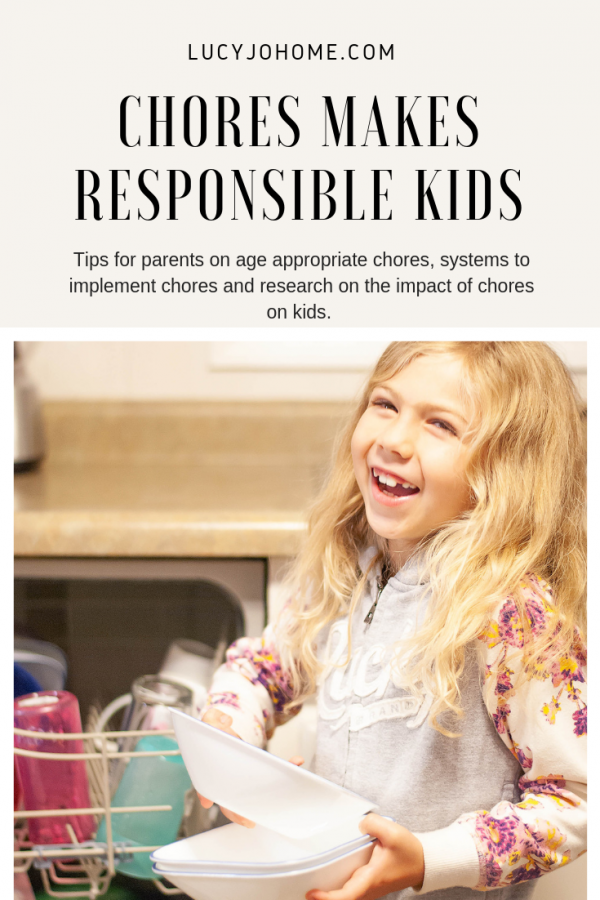 Chores Make Responsible Kids