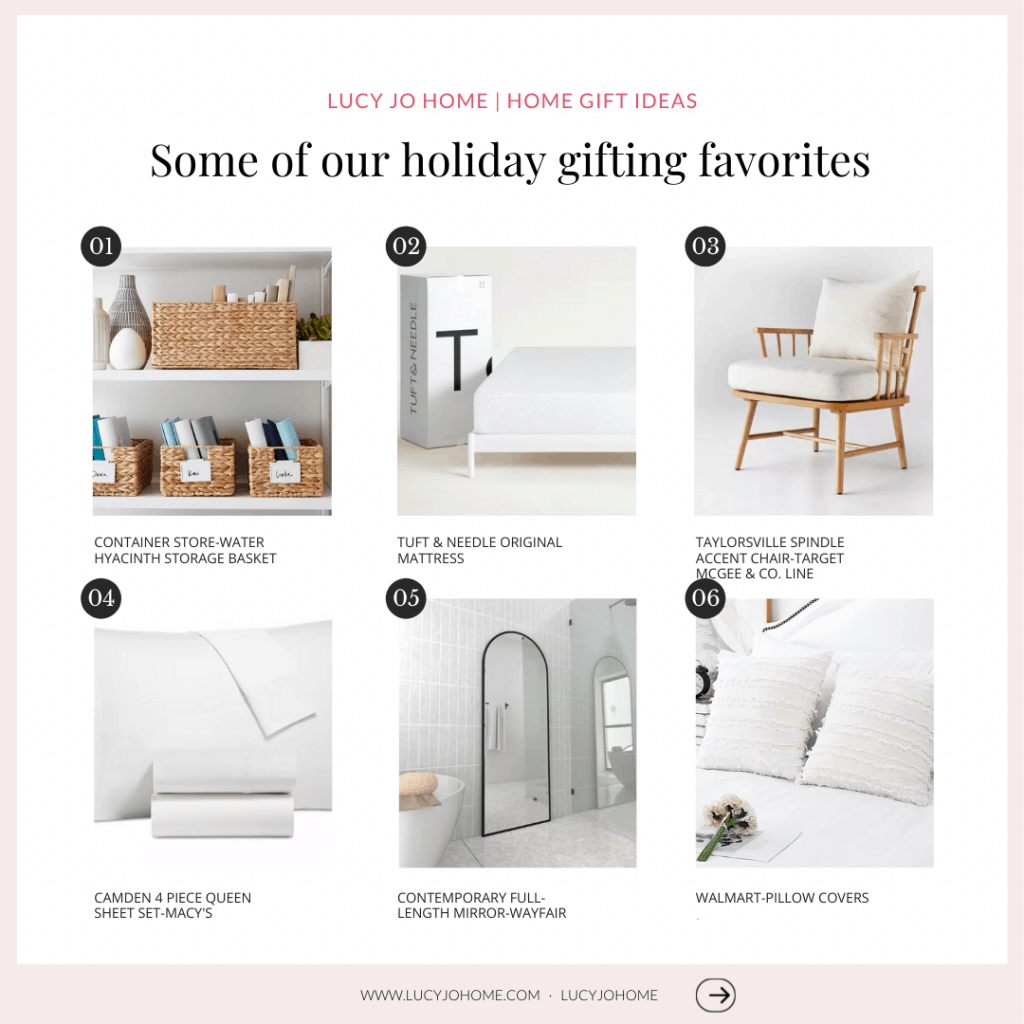 Gift Guides for Home and Everyone on Your List