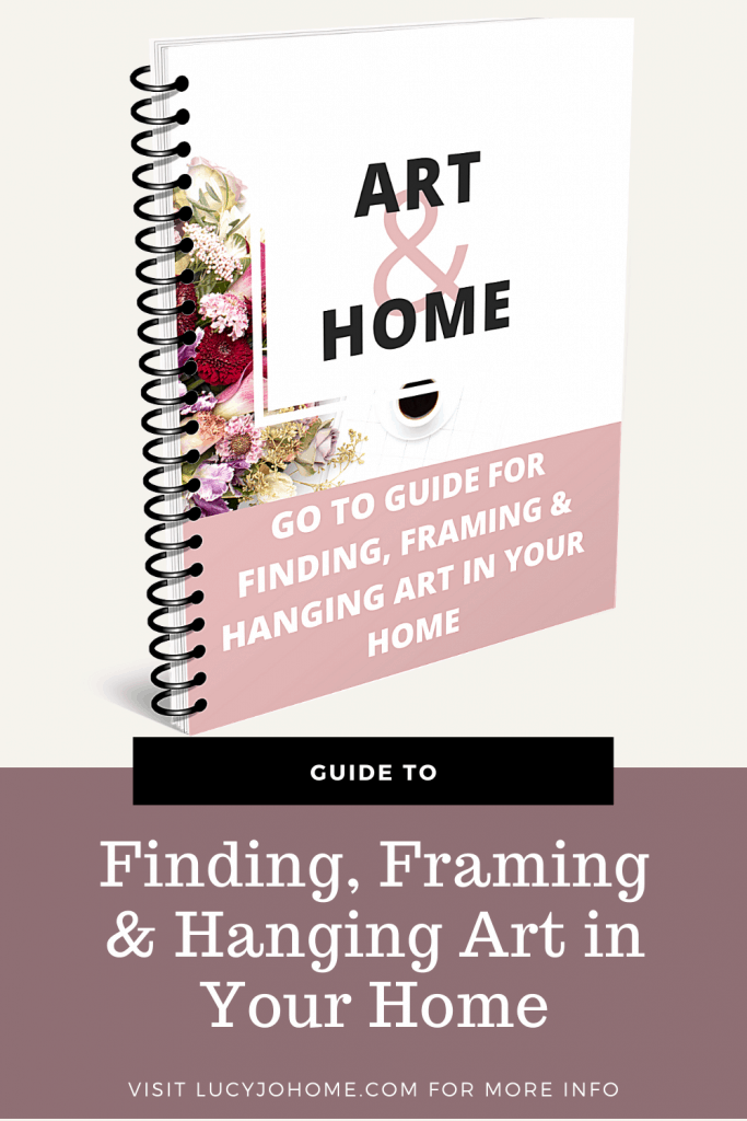 find frame and hang art